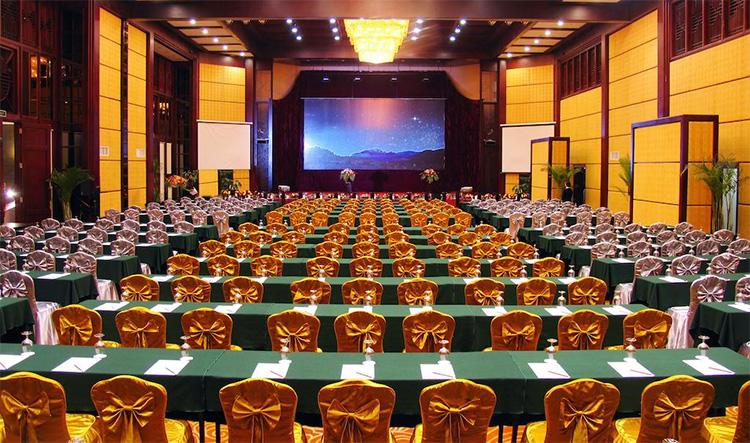 丽江大港旺宝国际饭店-1000人酒店会议场地