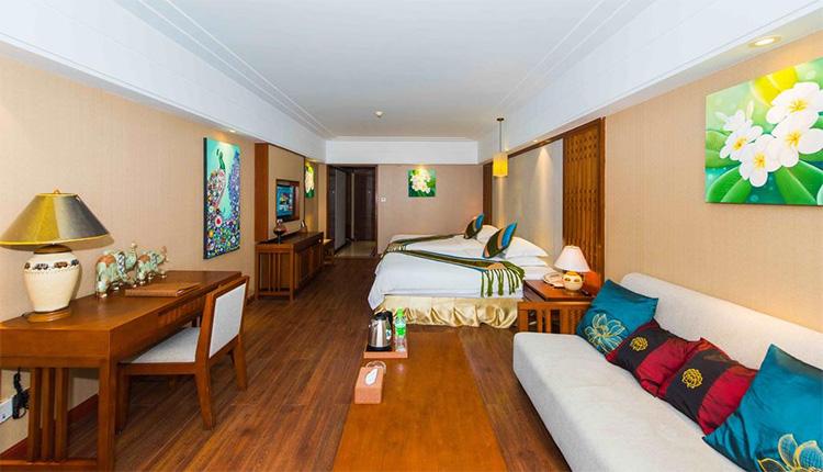 西双版纳滨港国际大酒店-会议酒店客房环境