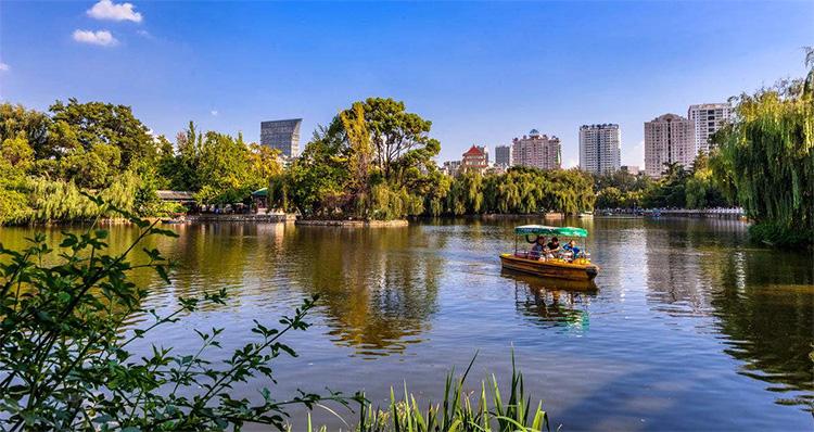 翠湖公园景点
