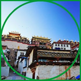 香格里拉松赞林寺旅游攻略
