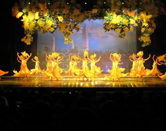 云南舞蹈《蝴蝶之梦》演出