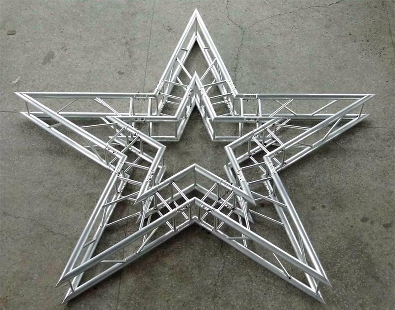 会议搭建-铝合金异形桁架