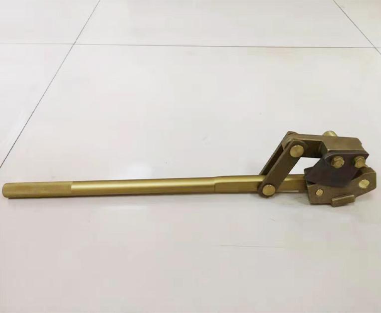銅制開桶器