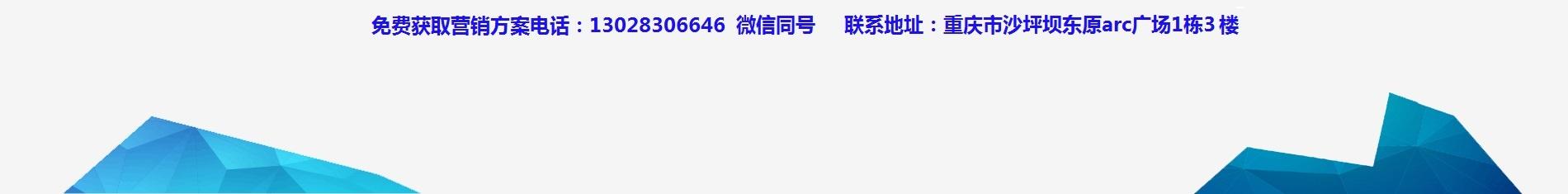 重庆网络推广电话