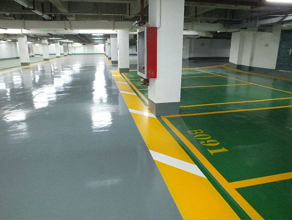 停车场车库划线施工标准要达到什么样的一个标准