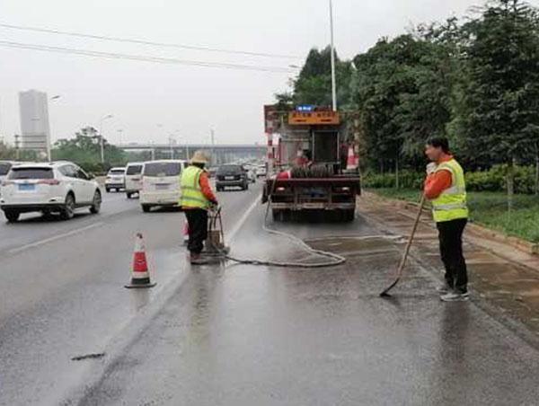 云南交通道路水除线