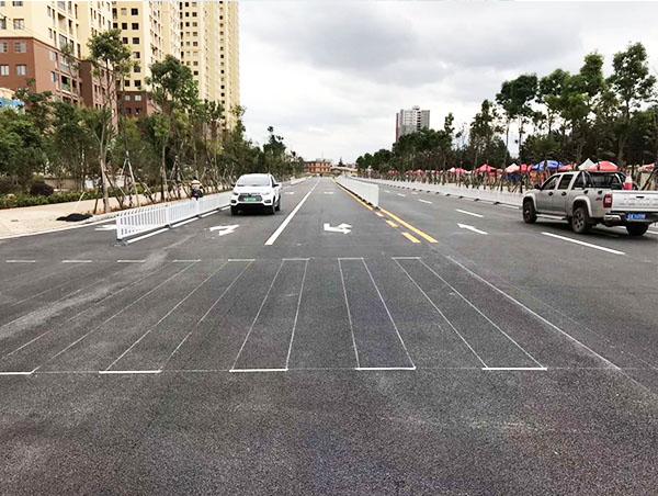 道路标线施工要合乎这几点条件