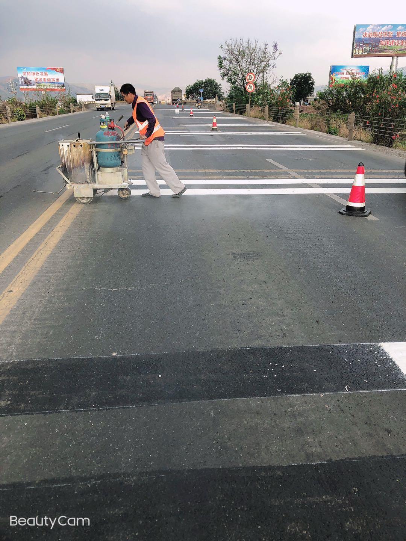 公路交通标线现场施工情况如何把控好
