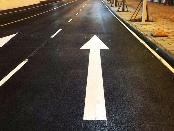 如何去提高公路交通标线的施工效率