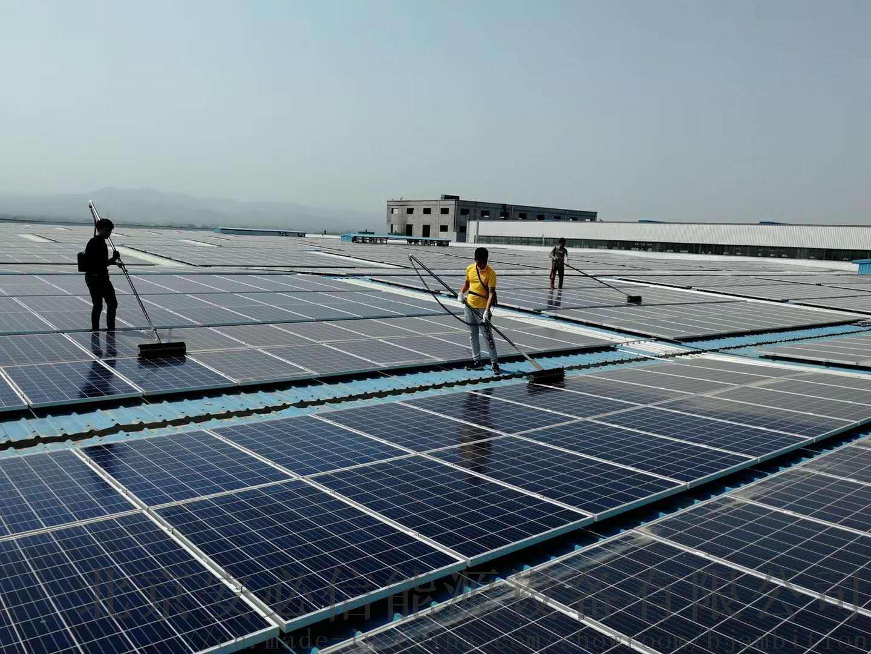 如何清洗太阳能光伏板