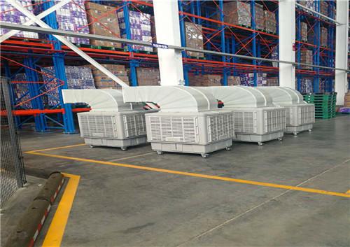 汽配厂水冷空调安装