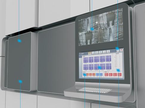 自动化血液存储冷库