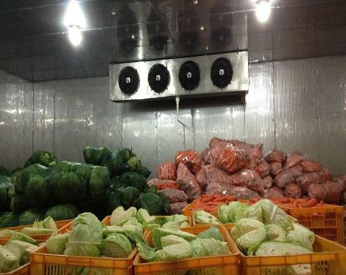蔬菜保鮮冷庫