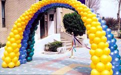 沈阳婚礼气球布置婚礼这样用节庆用品气球布置现场 美到不像话!