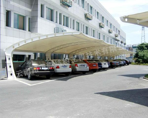 昆明膜结构停车棚