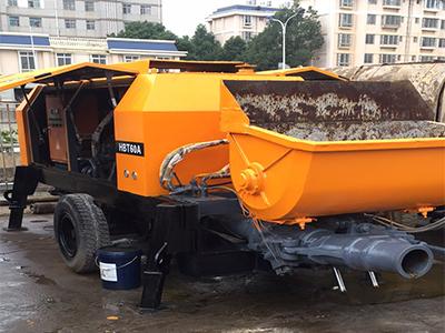 云南二手混凝土泵批发合作于龙岗富海360做网站建设