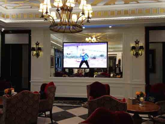 沈阳中海地产P4室内显示屏安装项目