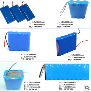 各种锂离子电池