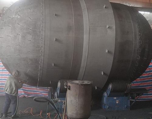 金属喷砂加工