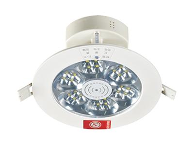 微波感应筒灯
