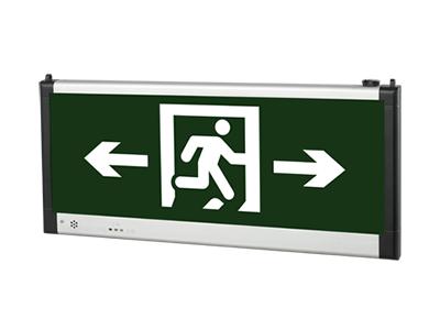 仿导光板铝材吊挂式标志灯