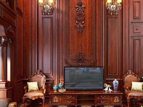客厅实木整体家居