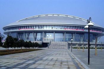 洛阳新区体育馆防火涂料工程