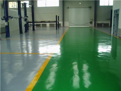 环氧树脂地坪漆底漆的作用是什么?