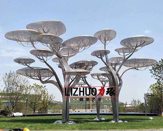 泉州云之树主题雕塑