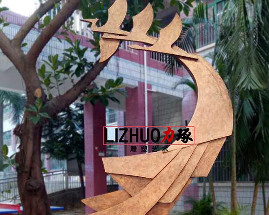 厦门鹭江小学校园雕塑