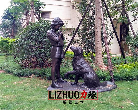 漳州信和御龙天下铸铜雕塑