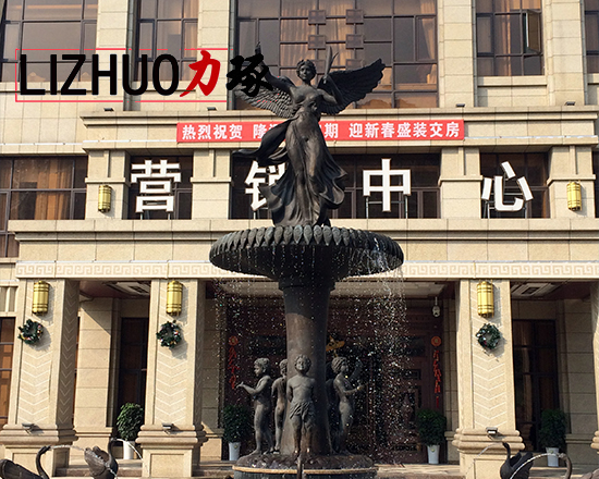 欧式铸铜雕塑