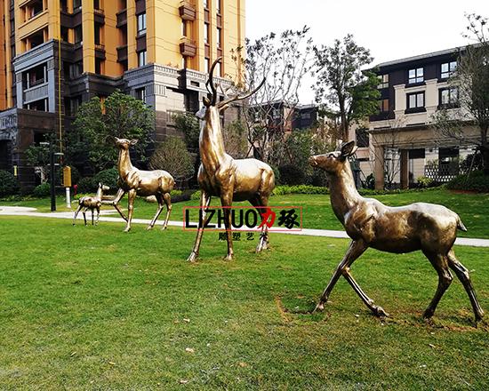 鹿景观雕塑