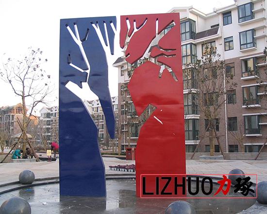 厦门校园不锈钢雕塑