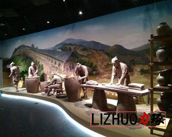博物馆雕塑