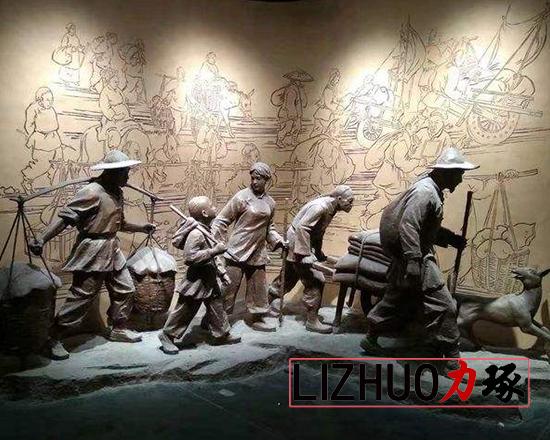 厦门展馆雕塑
