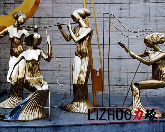 厦门抽象人物雕塑