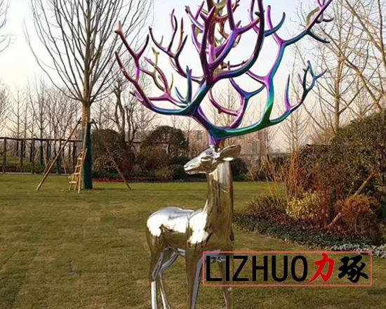 厦门鹿雕塑