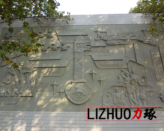 厦门砂岩浮雕墙