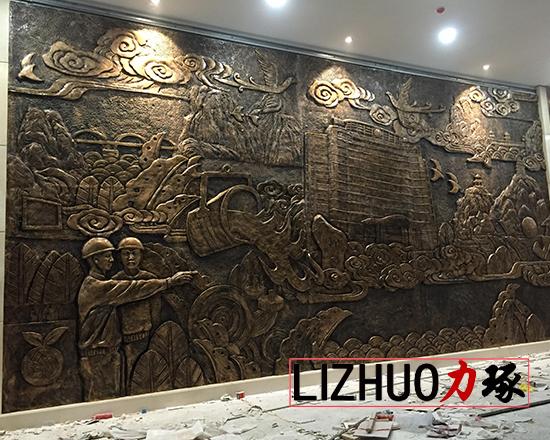 厦门浮雕壁画背景墙
