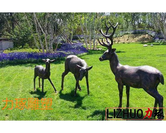 漳州铸铜动物雕塑