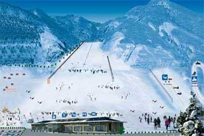 吉林青山滑雪场