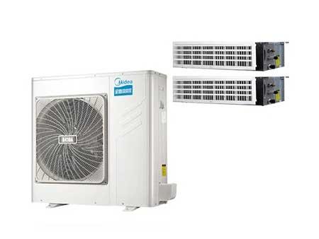 美的(Midea)酷风系列一拖二变频多联风管机MJZ-100W