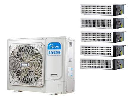 美的(Midea)酷风系列一拖五变频多联风管机MJZ-160W