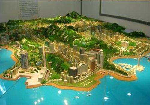 景区沙盘模型