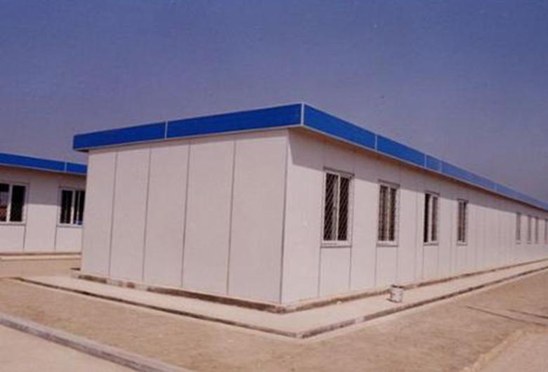 室外彩钢板房搭建