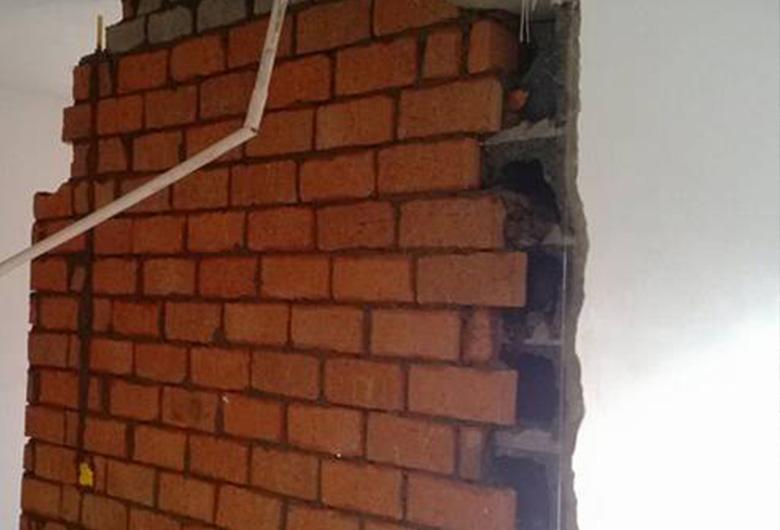 基础砖墙施工