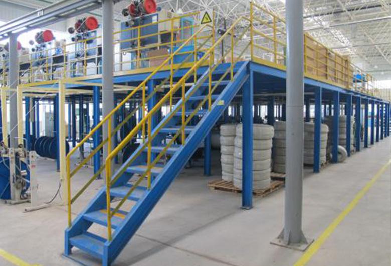 二层钢结构厂房施工