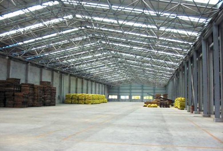 钢结构生产车间施工