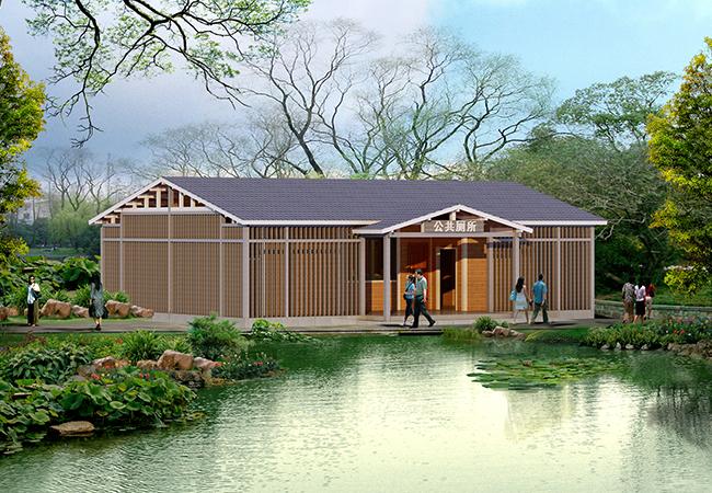 木结构装配式公厕